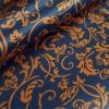 Плательная ткань Флирт коричневого цвета