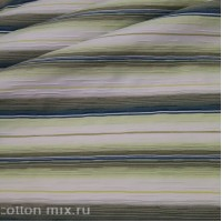Рубашечная ткань Светло-зеленая полоса