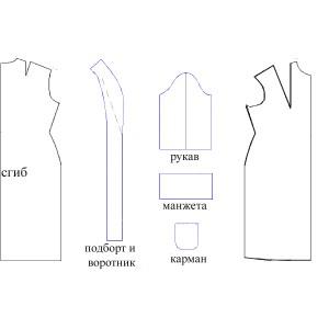 Сколько нужно ткани для футболки, халата