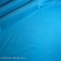 Штапель голубого цвета