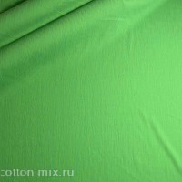 Штапель зеленого цвета